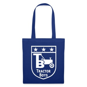 Tractor Boys Shopping Bag (Blue) - Tote Bag