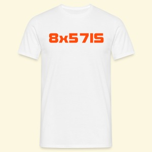 Kalibershirt 8x57IS - Männer T-Shirt