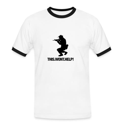 Shooter - Männer Kontrast-T-Shirt