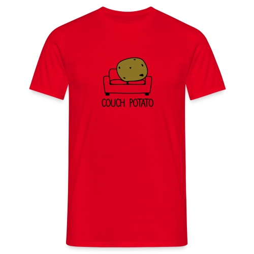 Couch Potato T-Shirt - Men's T-Shirt