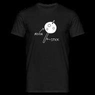 T-Shirts ~ Men's T-Shirt ~ Moon On A Stick T-Shirt