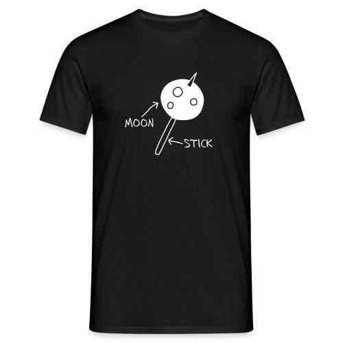 Moon On A Stick T-Shirt - Men's T-Shirt