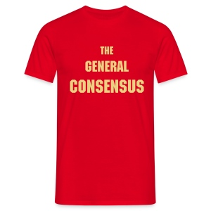 The General Consensus - red - Men's T-Shirt