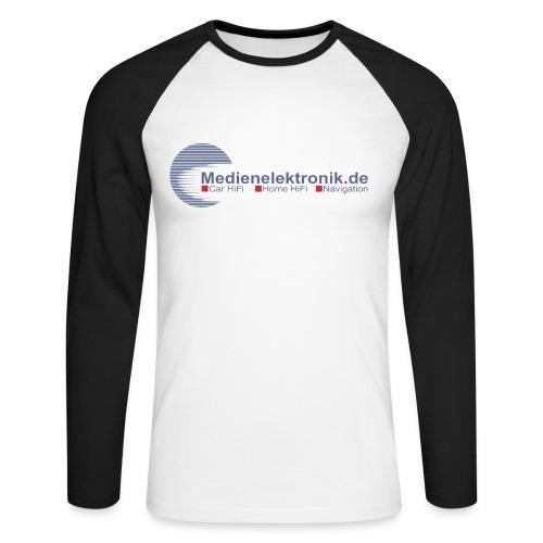 Medienelektronik Promodoro Langarm Shirt  - Männer Baseballshirt langarm