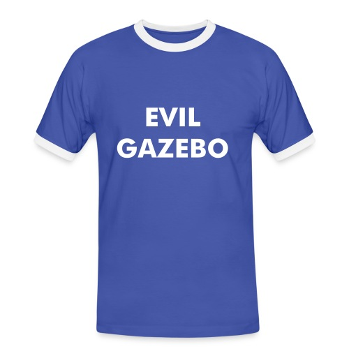 Evil Gazebo - Men's Guitarist special with sleeve detail - Men's Ringer Shirt