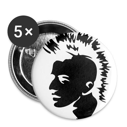Confezione da 5 spille grandi (56 mm)
