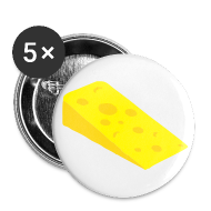Buttons ~ Buttons large 56 mm ~ Cheese Badge