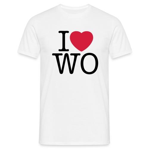 I love WO Classic Tee_white - Männer T-Shirt