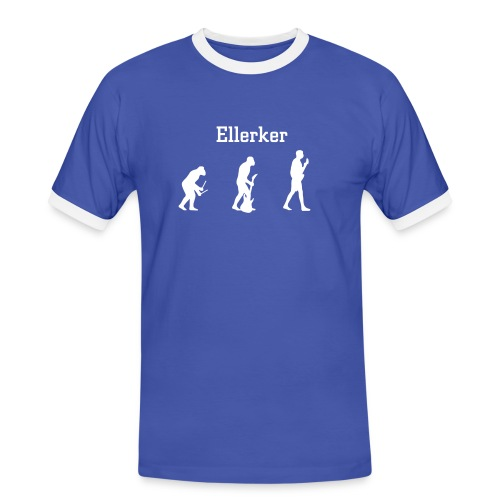 Ellerker 'Evolution' T-Shirt - Men's Ringer Shirt