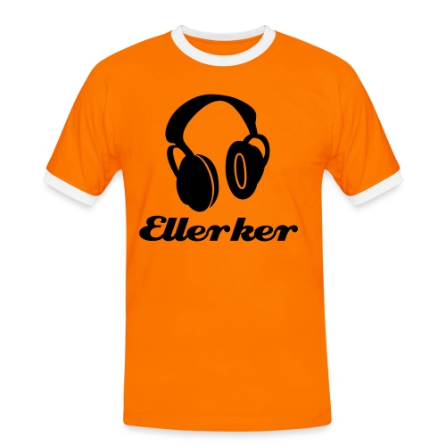 Ellerker 'Mobile Music' T-Shirt - Men's Ringer Shirt