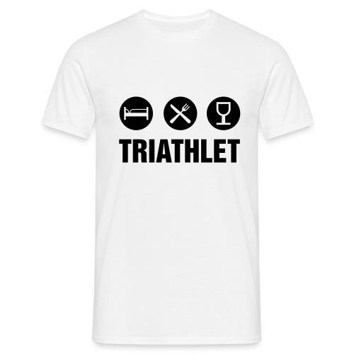 Triathlet T-Shirt - Männer T-Shirt