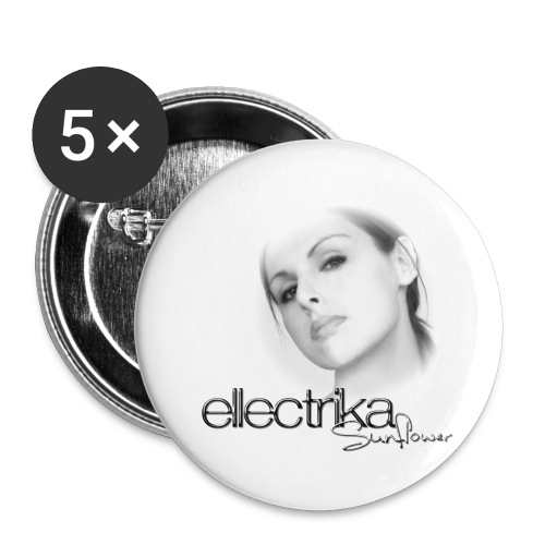 Badges (x5) Ellectrika portrait - Badge grand 56 mm