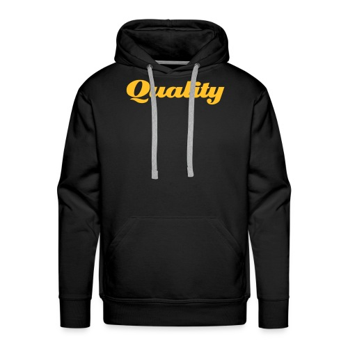 Quality Hooded Sweatshirt - Men's Premium Hoodie