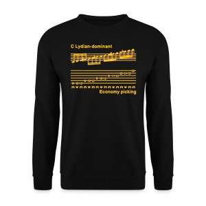 Economy picking - Guys - Sweatshirt - With I'M A SPEED DEMON text on back - Men's Sweatshirt