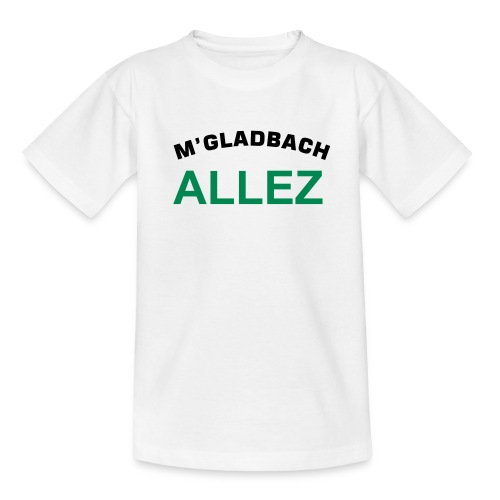MGladbach Allez Kids - Teenager T-Shirt