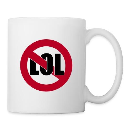 Gegen Anglizismen-Taste - Tasse