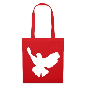 Peace (Red Shopping Bag) - Tote Bag