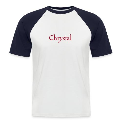 101 chrystal - Männer Baseball-T-Shirt