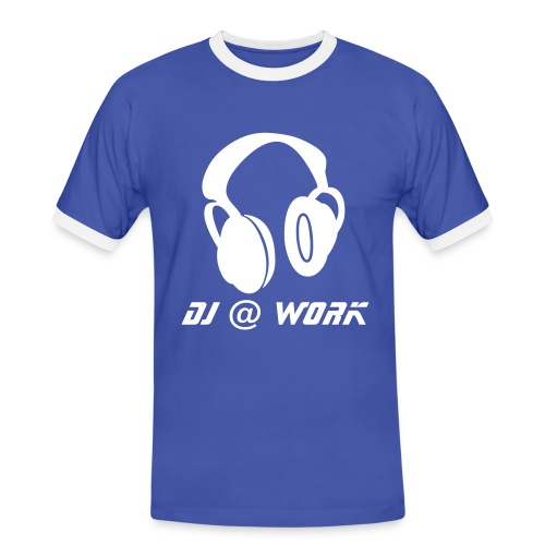 DJ @ Work - Men's Ringer Shirt