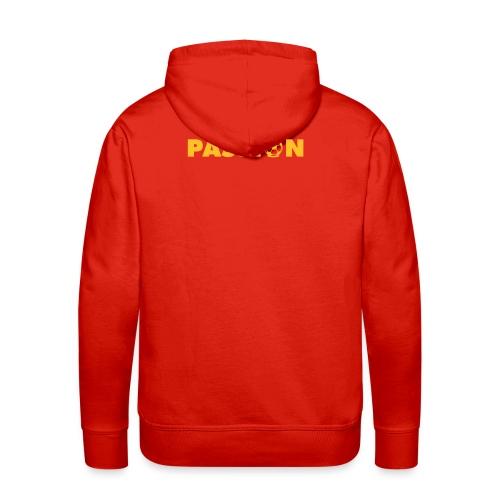 sweat à capuche impression passion - Sweat-shirt à capuche Premium pour hommes
