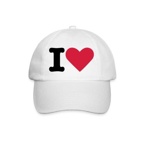 [Casquette] I Love ... Blanche - Casquette classique