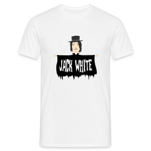eyebrowy - jack white - Men's T-Shirt