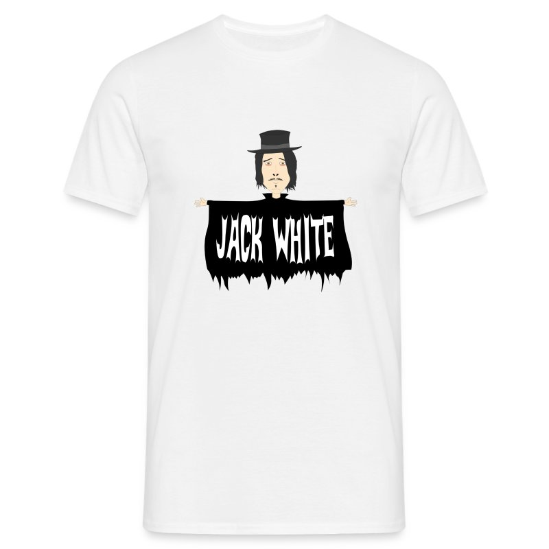eyebrowy - jack white - Men's T-Shirt
