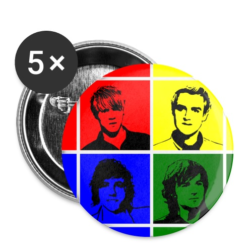 McFly Button Badge (32mm) - Buttons medium 1.26/32 mm (5-pack)