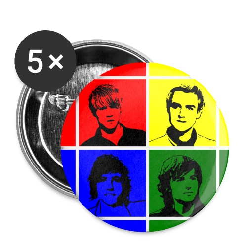 McFly Button Badge (25mm) - Buttons small 1''/25 mm (5-pack)