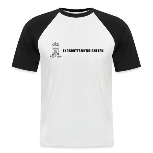 EkoBrottsMyndigheten T-shirt - Men's Baseball T-Shirt