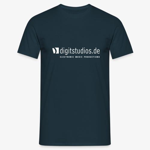 digitstudios.de navy/white - Männer T-Shirt
