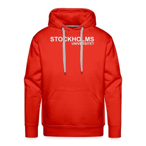 Luva - Stockholm röd - Premiumluvtröja herr