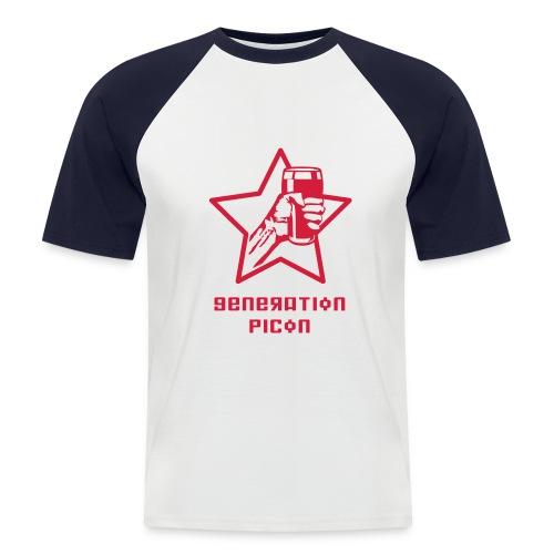 Génération Picon - Street  Rouge - T-shirt baseball manches courtes Homme