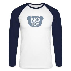 LAngarm Shirt No Toy - Männer Baseballshirt langarm