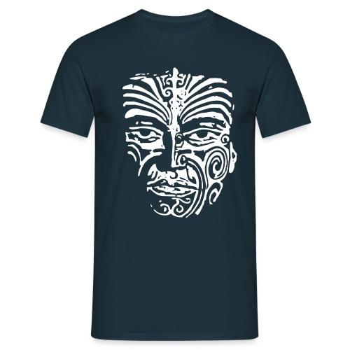 SHirt Ornament Face - Männer T-Shirt