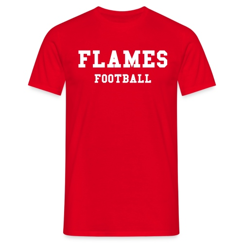 FLAMES FOOTBALL - T-shirt herr