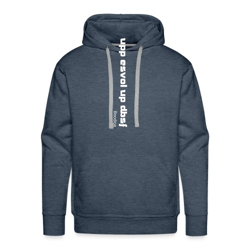 Too drunk to care - Men's Premium Hoodie