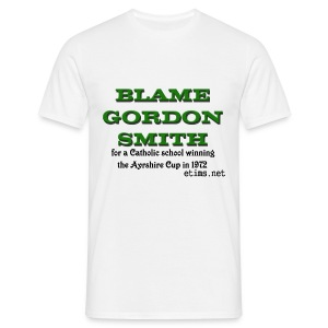 Blame Gordon Smith - Men's T-Shirt