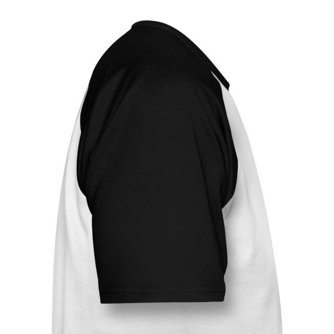 Uomo: T-Shirt Bianca/Nera - Logo B&W sul retro