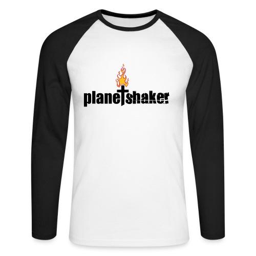 Planetshaker longsleeve - Männer Baseballshirt langarm