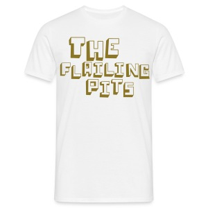 FIVER TO CHARITY GOLD PRINT - Men's T-Shirt