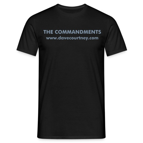 The Commandments - Men's T-Shirt