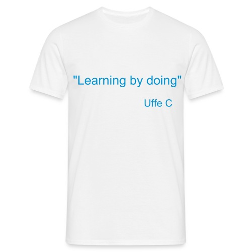 Learning by doing - T-shirt herr