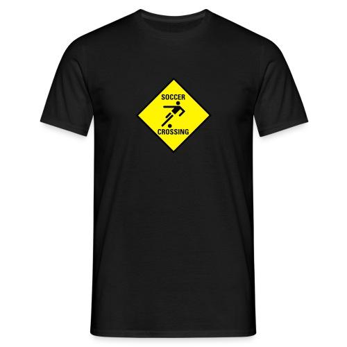 Soccer Crossing - Männer T-Shirt