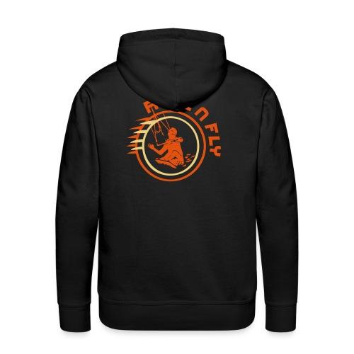 ROLL'nFLY KapuPulli black - Männer Premium Hoodie