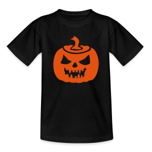 Halloween Pumpkin - Teenage T-shirt