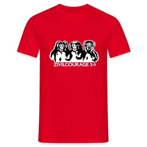 zivilcourage 2.0 t-shirt - Männer T-Shirt