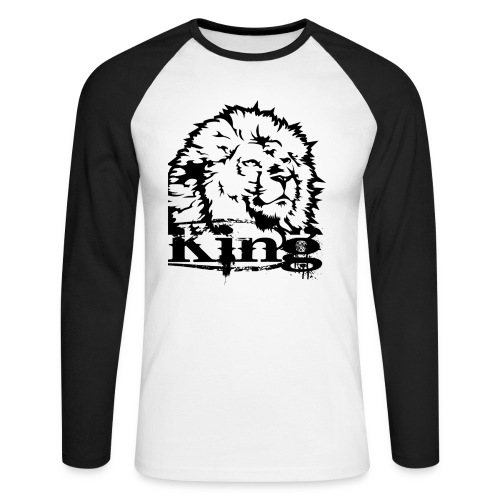 King Layion L - T-shirt baseball manches longues Homme