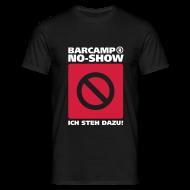 T-Shirts ~ Männer T-Shirt ~ barcamp no-show