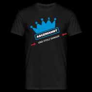 T-Shirts ~ Männer T-Shirt ~ abgemahnt